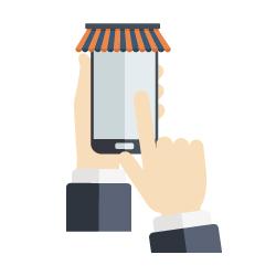 一頁式網頁適用-小型零售商