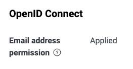 啟用 OpenID Connect 的 Email 授權